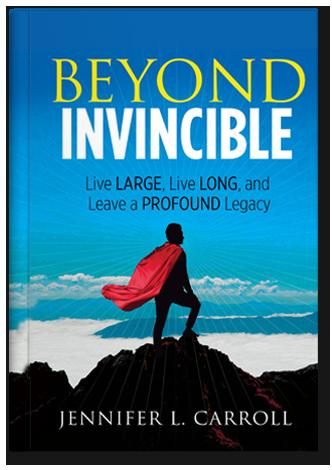 Beyond Invincible By Jennifer Carroll